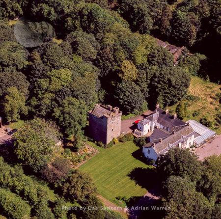 Affleck Castle, Monikie, Angus, Scotland