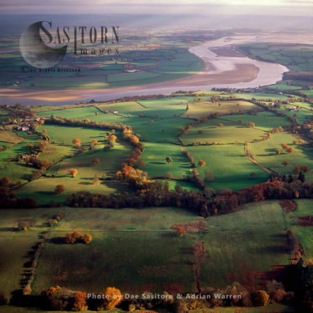 Forest Of Dean With The River Severn, Gloucestershire