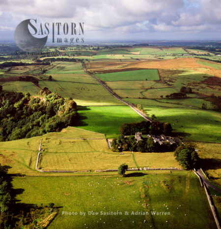 Banna, Known As Birdoswald Roman Fort, A Roman Fort On The Western End Of Hadrian's Wall, Cumbria