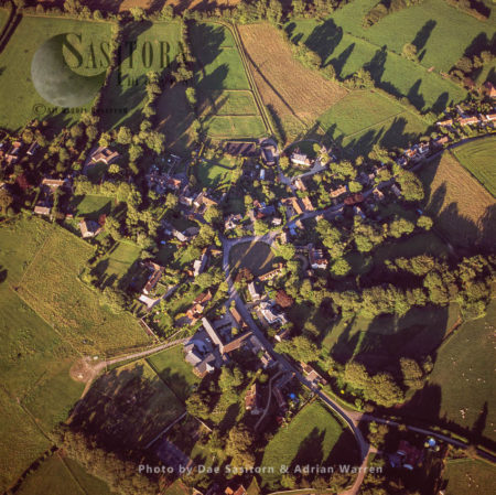 """Ashmore In Dorset, A Village Small Village Centred On A Circular Pond, The Highest Village In The County. The Pond Or """"mere"""" Is What Gave The Village Its Original Name Of Ashmere."""