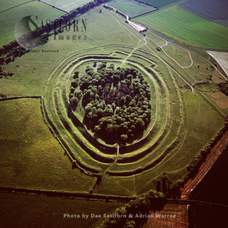 Badbury Rings, Iron Age Hill Fort, East Dorset, England