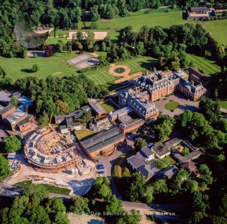 Bryanston School, Village Of Bryanston, Near Blandford Forum, Dorset