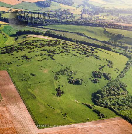 Celtic Field System In Stratton, Dorset