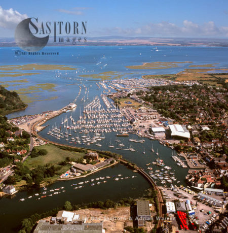 Lymington, A Port Town On The West Bank Of Lymington River On The Solent, New Forest, Hampshire