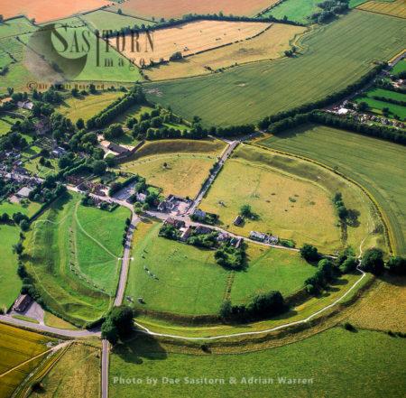 Avebury Henge And Stone Circles, Wiltshire, England