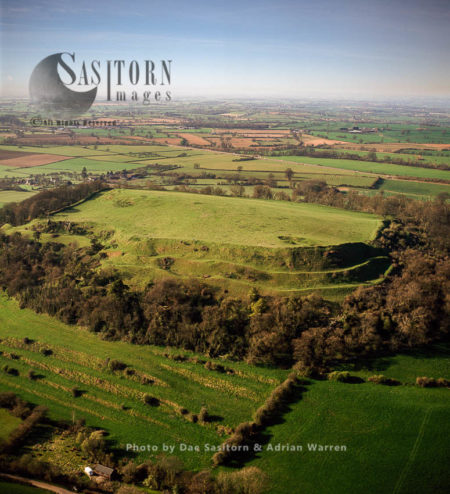 Cadbury Castle (Camalet), A Bronze And Iron Age Hillfort, Cadbury, Somerset
