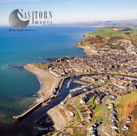 Aberystwyth, An Ancient Market Town In Ceredigion, Wales