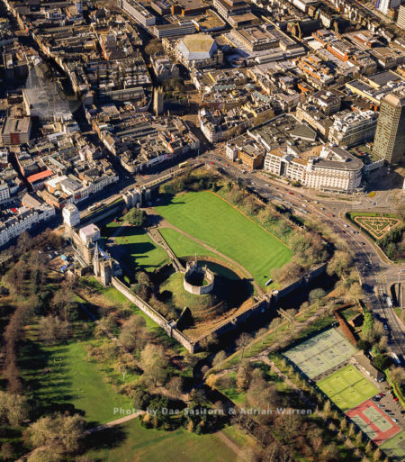 Cardiff Castle, A Medieval Castle And Victorian Gothic Revival Mansion Located In The City Centre Of Cardiff, Wales