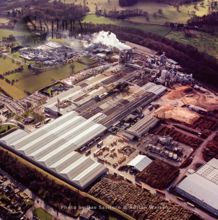 Chirk-woodchip Factory, Chirk, Wales