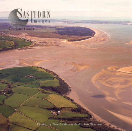 Aber Taf (English: Taf Estuary), A Large Site Of Special Scientific Interest (SSSI) In Carmarthenshire, Wales