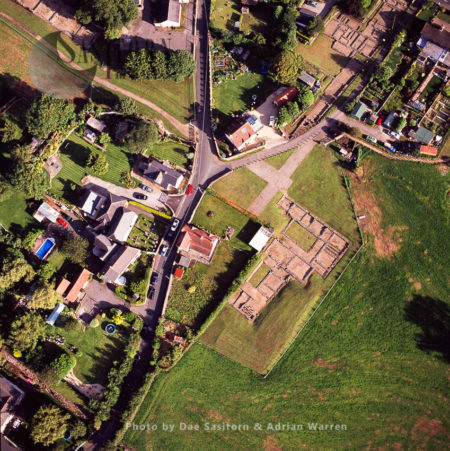 Caerwent, Monmouthshire, South Wales. It Is Famous For Its Roman Remains