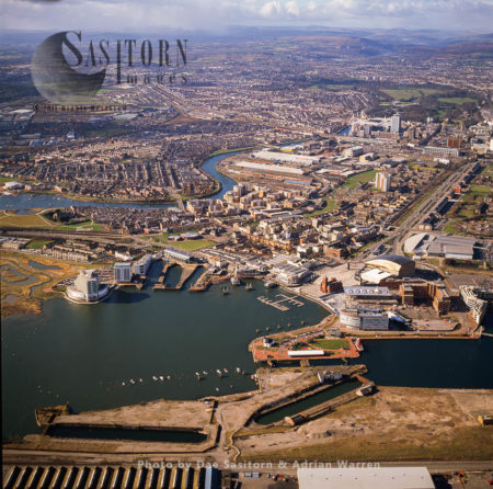 Cardiff City Centre And Waterfront, Cardiff Bay South Wales