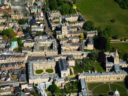 Christ Church Library, Corpus Christi College, Oriel College,  And Merton College, University Of Oxford, Oxfordshire, England