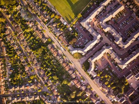 Housing In Swindon, Wiltshire, England