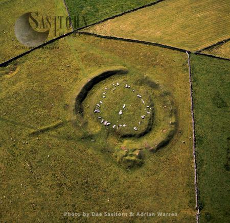 Arbor Low Stone Circle, Peak District, Derbyshire, England