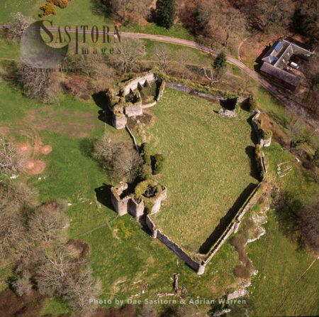 Penrice Castle, A 13th-century Castle, Penrice, Swansea, Gower Peninsula, South Wales