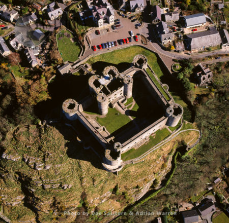 Harlech Castle, A Medieval Fortification, Constructed Atop A Spur Of Rock, Harlech, Gwynedd, North Wales