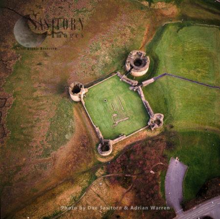 Flint Castle (Welsh: Castell Y Fflint), On The Estuary Of The River Dee, Flint, Flintshire, North Wales