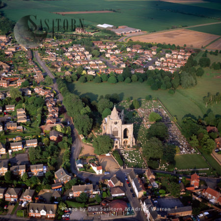 Crowland Abbey, Crowland,  Lincolnshire