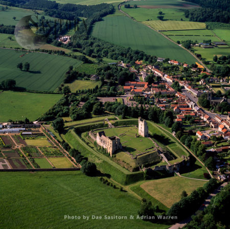 Helmsley Castle, Helmsley, North Yorkshire, England