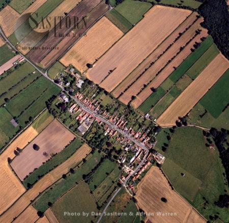 Appleton-le-Moors, A Medieval Village, Ryedale District, North Yorkshire,