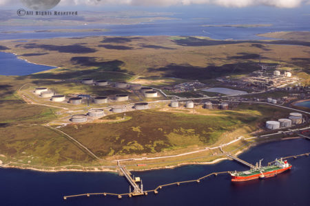 Sullom Voe Oil Terminal (Sullom Voe, An Inlet Between North Mainland And Northmavine), Mainland Shetland