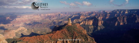 Mount Hayden, North Rim, Grand Canyon National Park, Arizona, USA