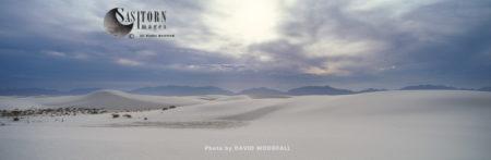 White Sand National Monument, Gypsum Deserts, New Mexico, USA