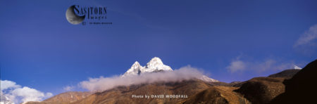 Ama Dablam, Sagarmatha National Park Of The Himalayas Of Eastern Nepal