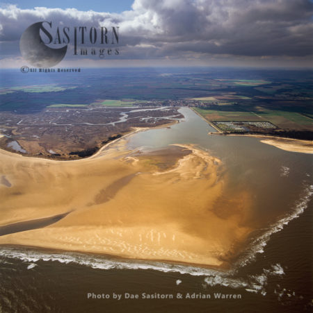 Bob Hall's Sand And Wells Salt Marshes, Near Wells-next-the-Sea, Norfolk